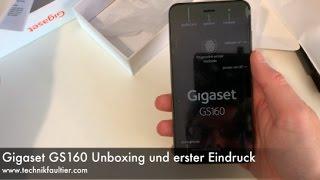 Gigaset GS160 Unboxing und erster Eindruck