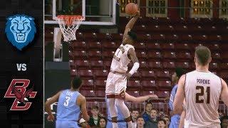 Columbia vs. Boston College Basketball Highlights (2018-19)