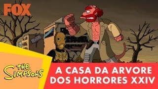 Os Simpsons; A casa da árvore dos horrores 24; abertura