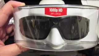 Pivothead 1080p HD 8MP Durango Video Glasses Unboxing and Test Footage