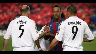 LEGENDS #1 - Ronaldinho ● Ronaldo ● Zidane - Goals and Skills HD