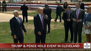 Donald Trump & Mike Pence Hold Friends and Family Event in Cleveland, OH (7-20-16)