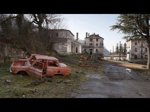 Шахтерские посёлки призраки Mining ghost towns in Abkhazia