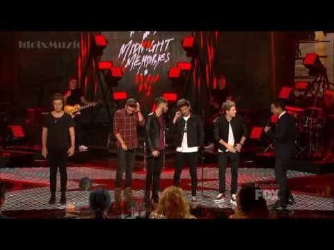 Hd One Direction Midnight Memories X Factor Usa 2013 Finale