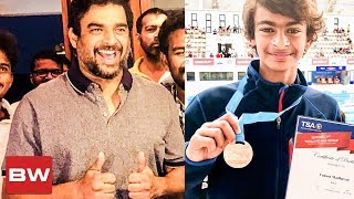 Maddy's Son Grabs a Bronze! | Proud Father-Son Moment | Vedaant Madhavan