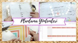 Nasıl Plan Yapıyorum? | Ajanda, Takvim, To-do List