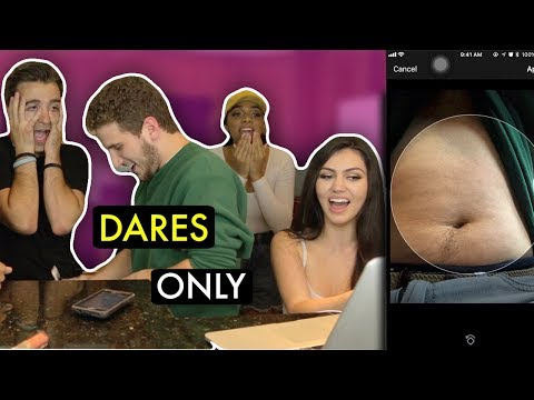 DARES ONLY FT. REACT CAST SOCIAL MEDIA EDITION