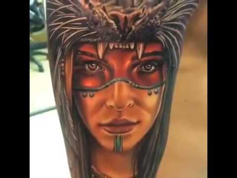 Amazing 3D Tattoo designs HD 2016