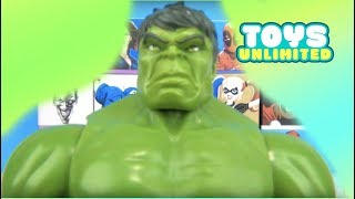 15 SUPERHERO Blindboxes! Marvel Avengers Justice League, Ironman Spiderman Batman Toy Surprise TUYC