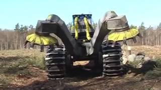 kanal kazıcı makina-Scarifier Bracke Forest T26.a - Disc trencher