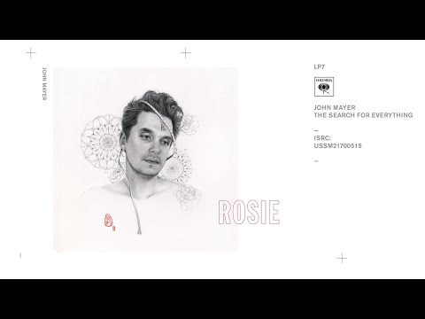 Download John Mayer - Rosie (Audio) free