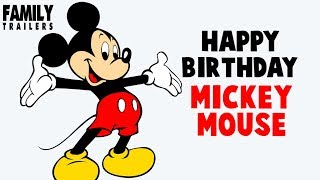 Happy Birthday MICKEY MOUSE - Tribute to the Disney Star