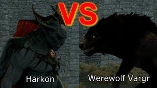 Skyrim Battle - Requested Battles! Werewolves vs Vampires & more!