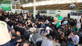 مؤسسة اليتيم الخيرية تقدم خدماتها لزائري أربعينية الإمام الحسين (ع) - ١٤٣٩هـ - ٢٠١٧م
