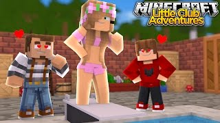 Little Kelly Goes Swimming - Minecraft Little Club Adventures