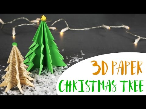 3D Paper Christmas Tree | Creativewithlove