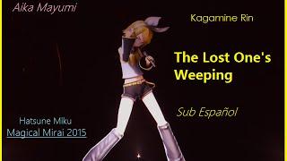 [Kagamine Rin] The Lost One's Weeping/ロストワンの号哭 [Sub Español/Romaji] - Magical Mirai 2015