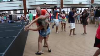 Matine 14° Dançando a Bordo