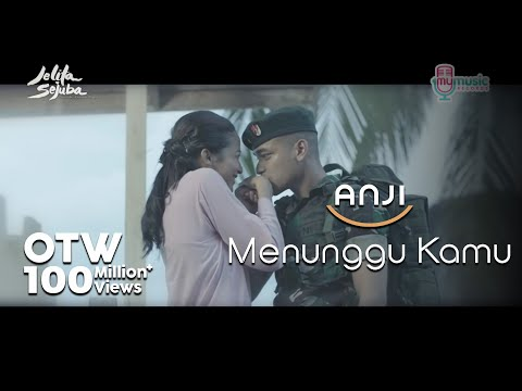 Download ANJI - MENUNGGU KAMU (OST. Jelita Sejuba ) (Official Music Video + Lyrics) free