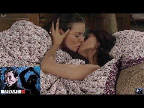Coronation Street - Kate & Rana Are Caught Kissing Under The Duvet