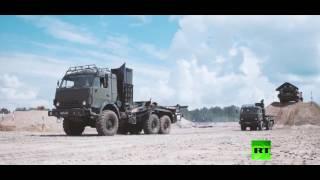 """فيديو مشوق للقوات الروسية خلال مسابقة """"الطريق الآمن"""""""