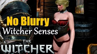 No Blurry Witcher Senses THE WITCHER 3 Motion Sickness ★ pc guide how to tips & tricks tweak