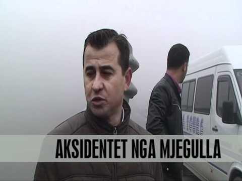 Kukës 40 aksidente ne pak orë mjegull Vizion Plus News Lajme