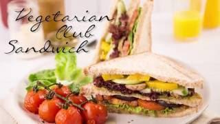 Resep Vegetarian Club Sandwich