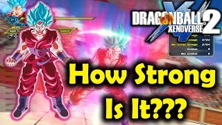 Just How Strong Is Super Saiyan Blue Kaioken? (Dragon Ball Xenoverse 2)