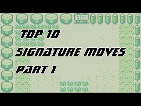 Top 10 Coolest Pokemon Signature Moves (Part 1)