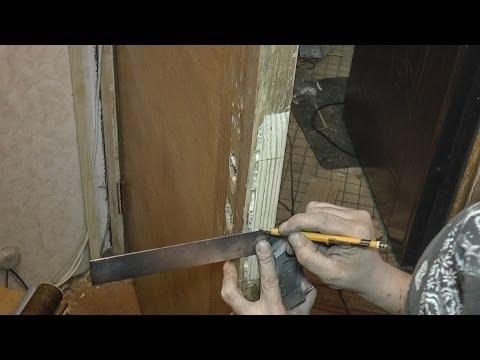 Ремонт межкомнатной дверей своими руками