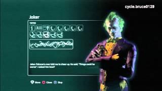 Patient's interview- Joker