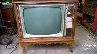 1970 Packard Bell Color TV New Old Stock 98C22