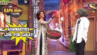 Aishwariya Showers Love On Gulati  - The Kapil Sharma Show