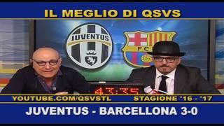 QSVS - I GOL DI JUVENTUS - BARCELLONA 3-0 TELELOMBARDIA / TOP CALCIO 24