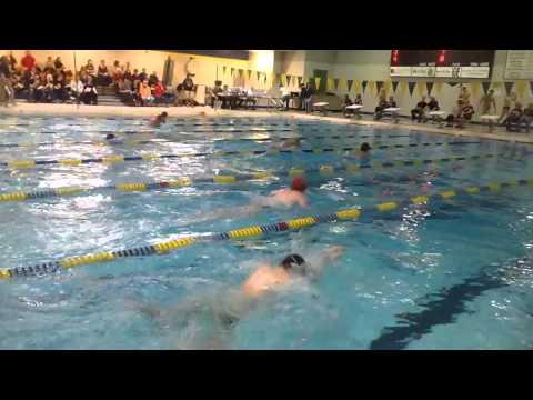 Iowa City Quad Meet 15/ JV 100 breaststroke