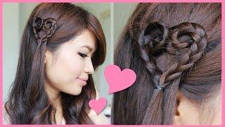 Heart Braid Tutorial ♥ Valentine's Day Hairstyle