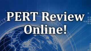 PERT Test - Purpose and Tone Review