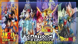 DRAGÓN BALL SUPER ESPAÑOL | LATINO FECHA DE ESTRENO CANAL Y MARATÓN CONFIRMADOS ¡COMPARTE! | ANZU361