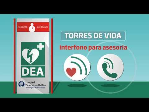 Desfibrilador Externo Automático DEA Hospital Zambrano Hellion
