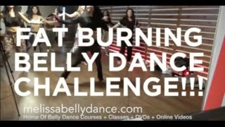 FAT BURNING BELLY DANCE CHALLENGE WORKOUT (FULL 55MINS)
