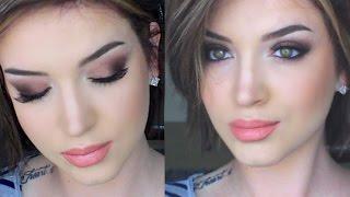 daytime glam  matte makeup tutorial
