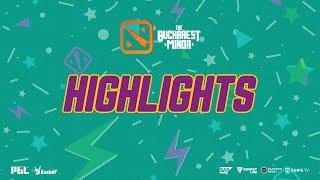 Gambit Esports vs Keen Gaming - Highlights The Bucharest Minor