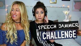 Bourrées sans alcool : Speech jammer challenge 😂 (w/ Caroline) - Horia
