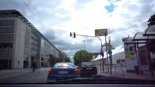 Frankfurt, Germany - City to Airport  [HD720p]