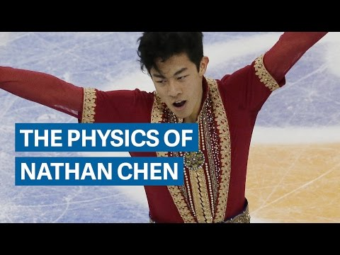 The gravity defying physics of figure skater Nathan Chen