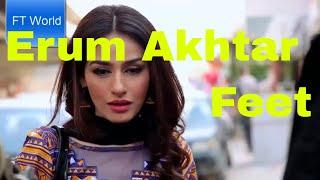 Pakistani drama actress erum akhtar feet.