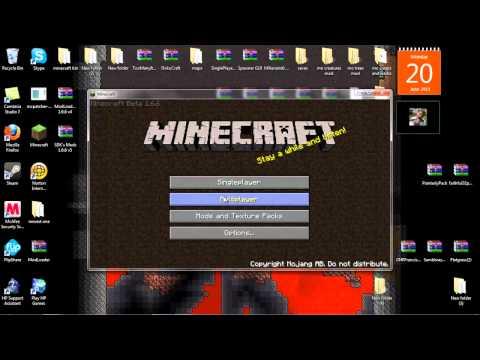 MineCraft Zombe Fly Mod 1.7.3