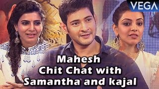 Brahmotsavam Movie || Samantha Exclusive Interview with Mahesh and Kajal