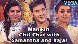 Brahmotsavam Movie || Samantha Exclusive Interview with Mahesh and Kajal